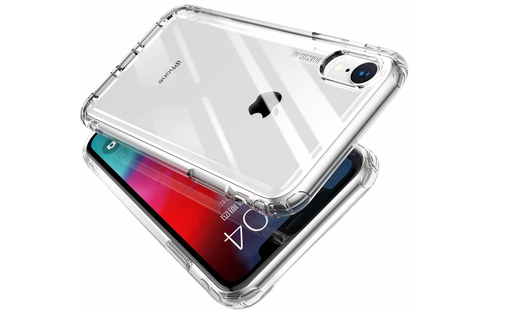 MKOAWA Clear Protective Heavy Duty Case iPhone XR
