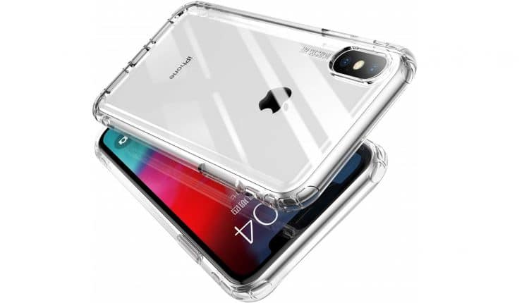 MKOAWA iPhone XS Max Clear Case