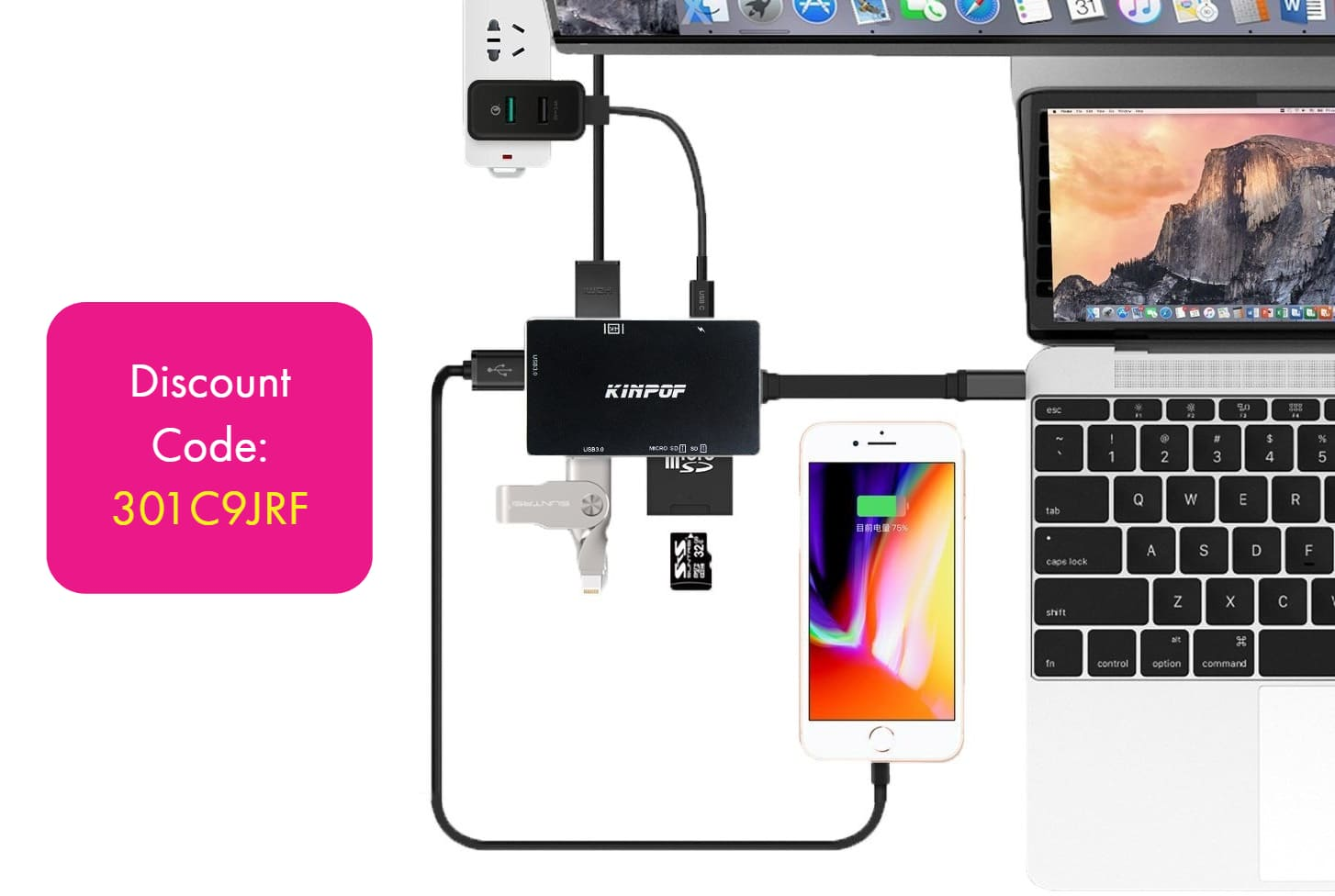 USB C Hub for MacBook