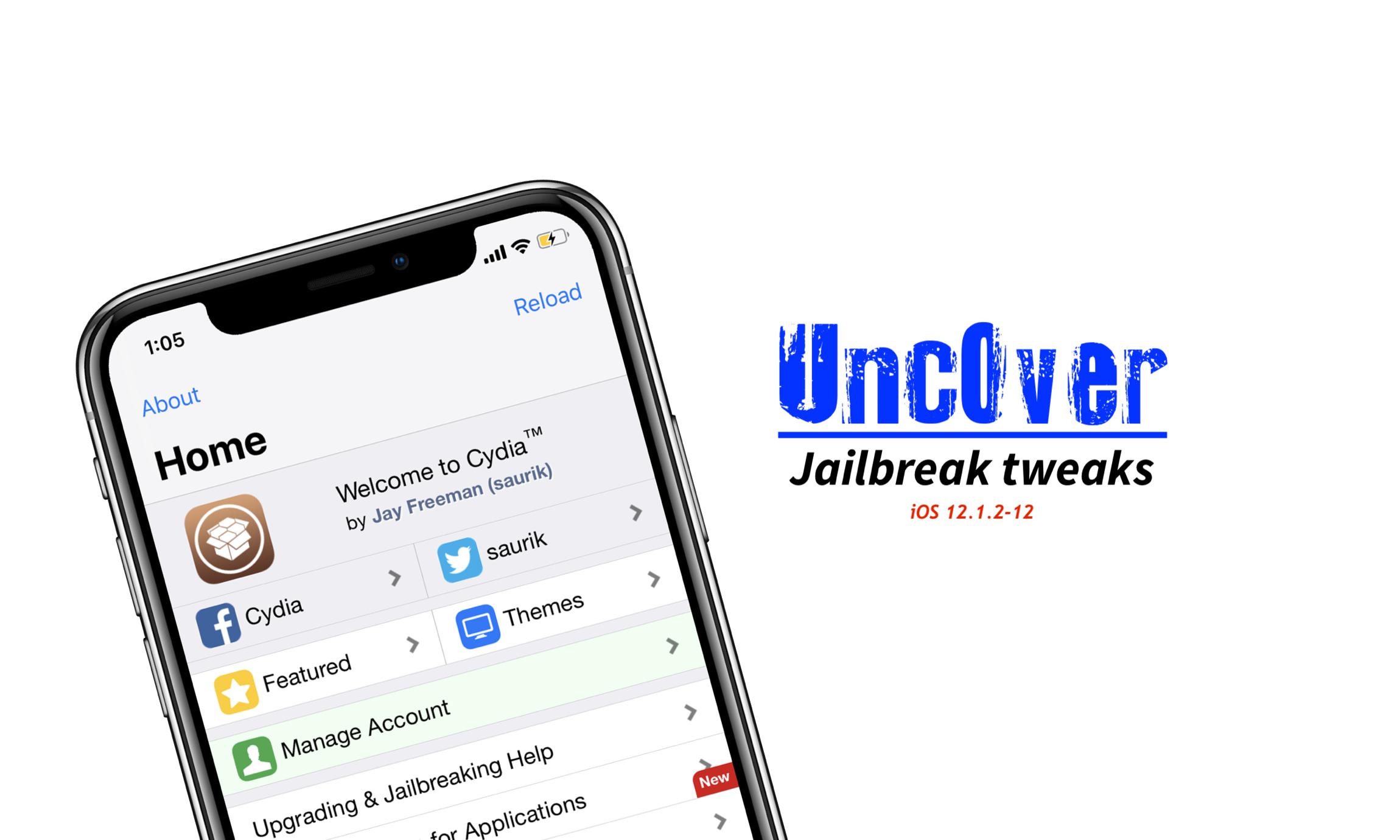Unc0ver-jailbreak-tweaks-ios-12