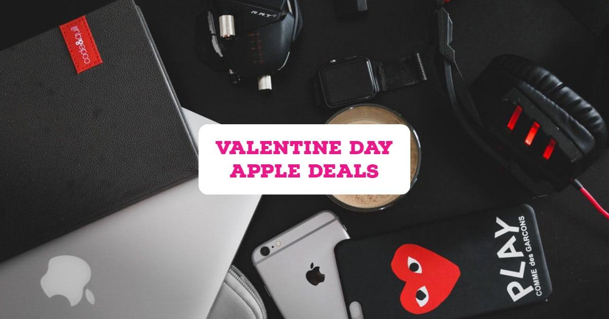 Valentine Day Apple Deals