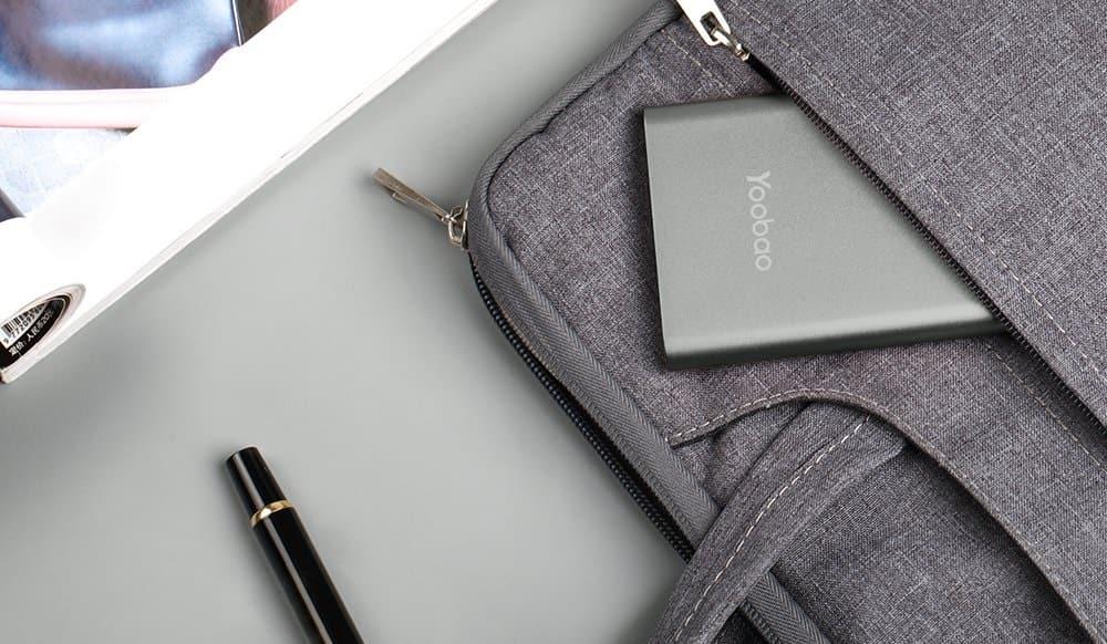 Yoobao Portable Charger 10000mAh Slim Power Bank Powerbank