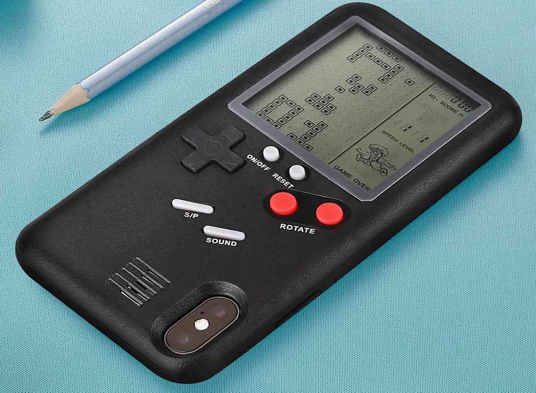 retro 3d game boy case iphone