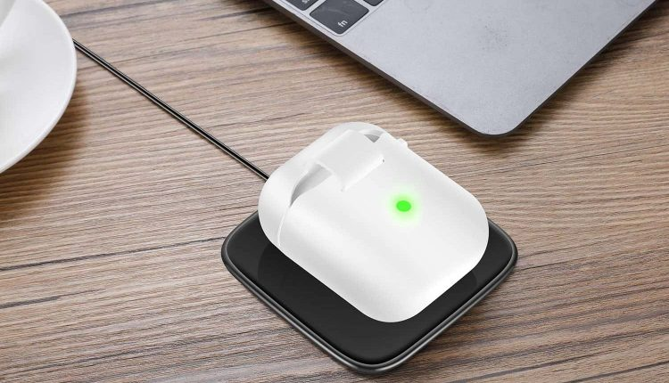Add wireless charging to airpods