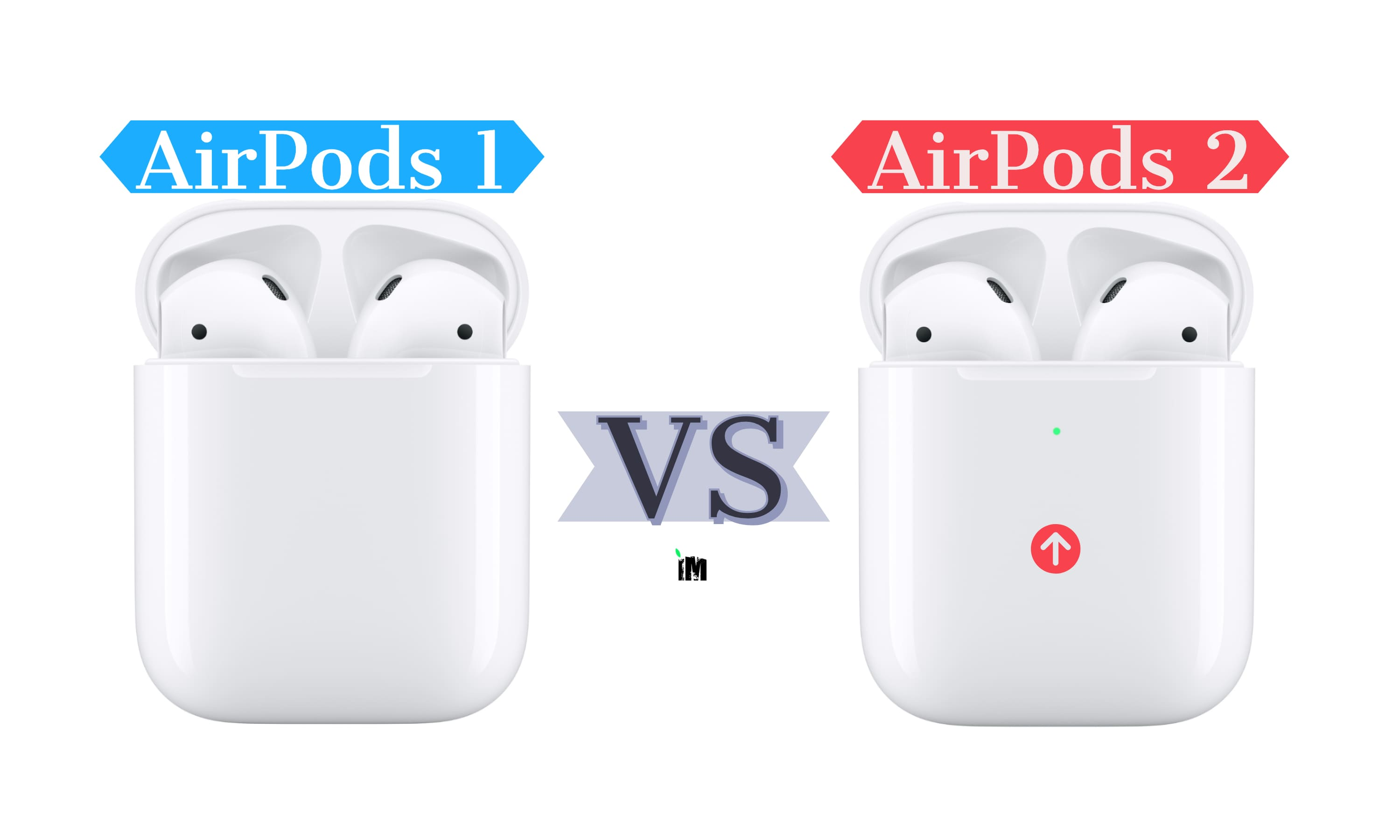 AirPods 1_vs_AirPods 2