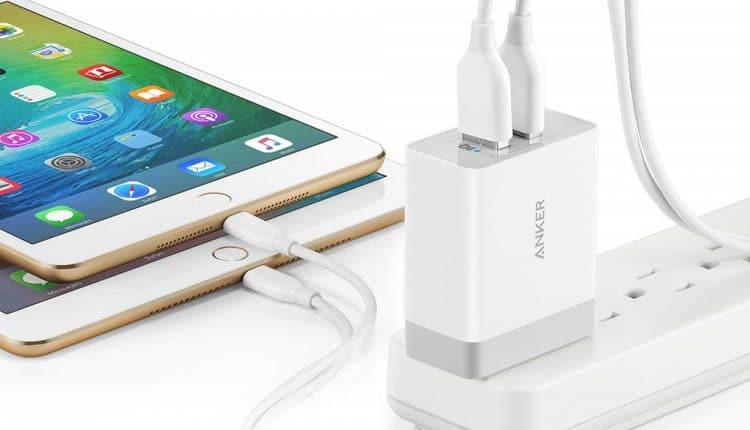 Anker dual port usb wall charger