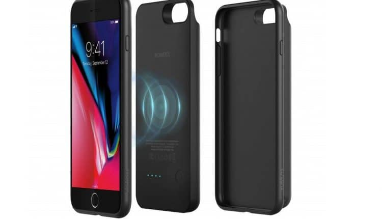 ROMOSS Qi Wireless charging battery case for iphone 8 plus