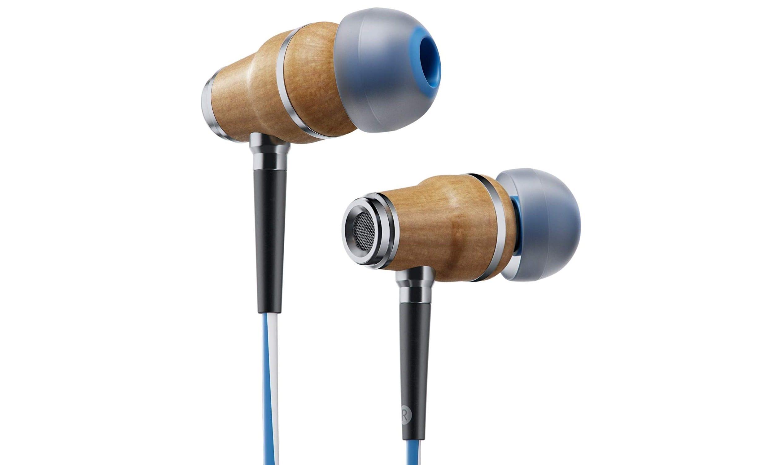 Symphonized NRG X Premium Genuine Wood Earbuds-min