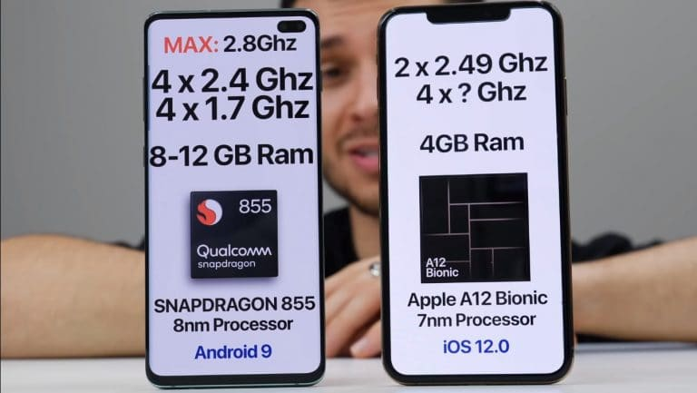 iPhone XS Max Vs Samsung Galaxy S10 Plus Speed Test [Video]