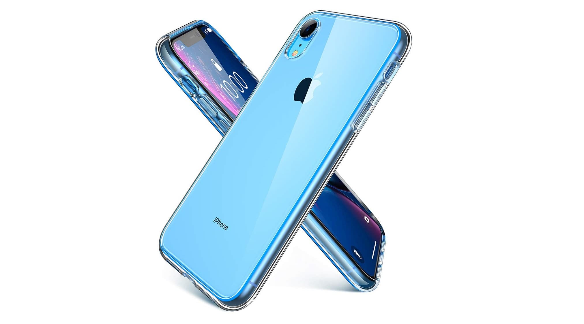 Ainope Clear iPhone XR Case 6.1 inch-min