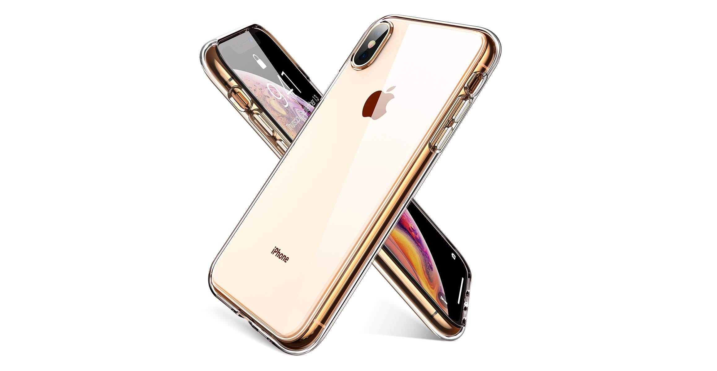 Ainope Crystal Clear iPhone Xs Max Case-min