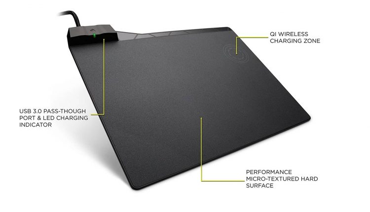 CORSAIR MM1000 QI WIRELESS CHARGING MOUSE PAD-min