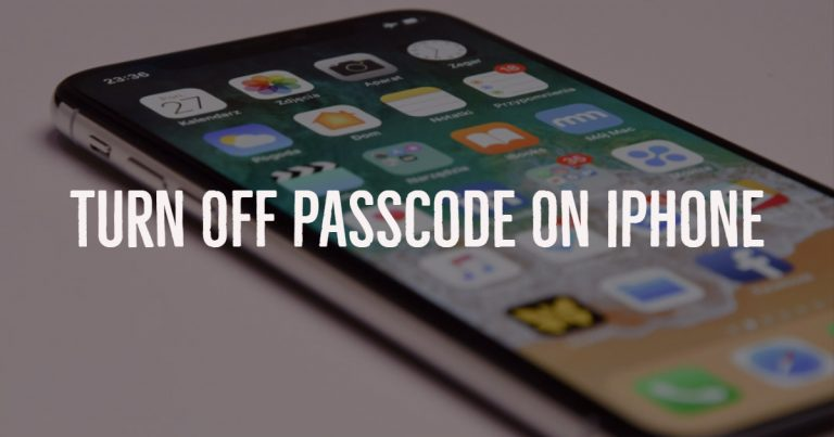 Tip To Disable Passcode On iPhone and iPad