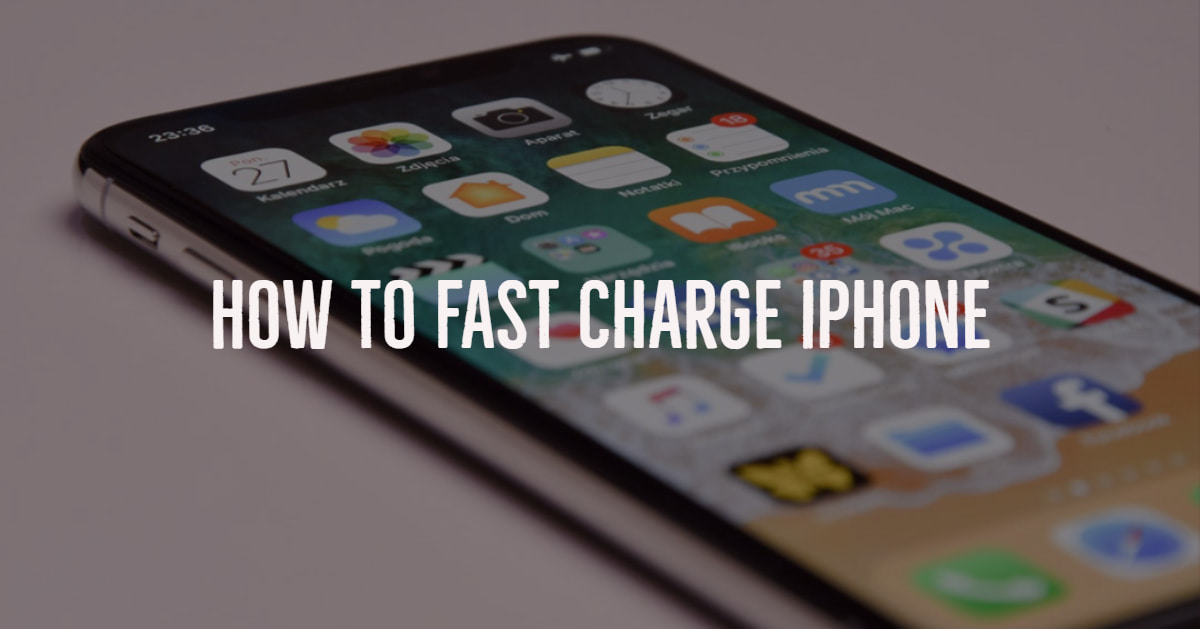 Fast Charge iPhone