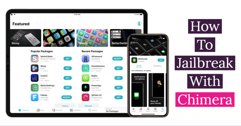 How to Jailbreak Your iPhone on iOS 12.1.2 – 12 Using Chimera [Windows & Mac]