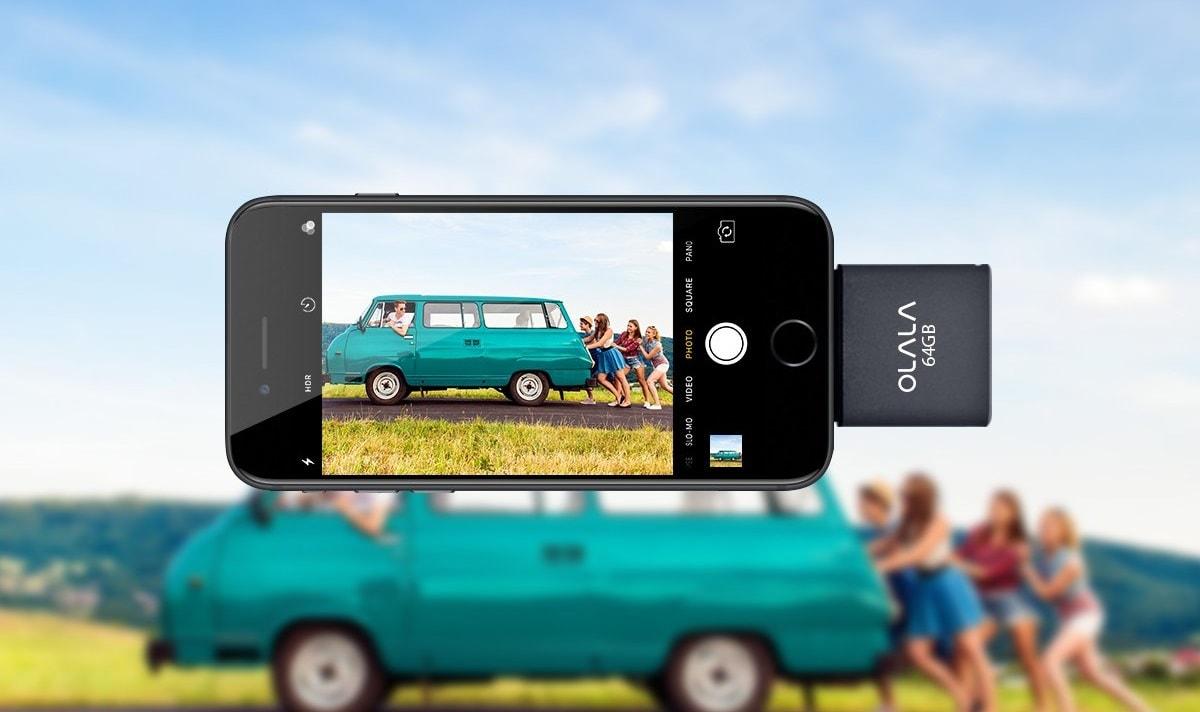 OLALA 64 GB iPhone and iPad Flash Drive