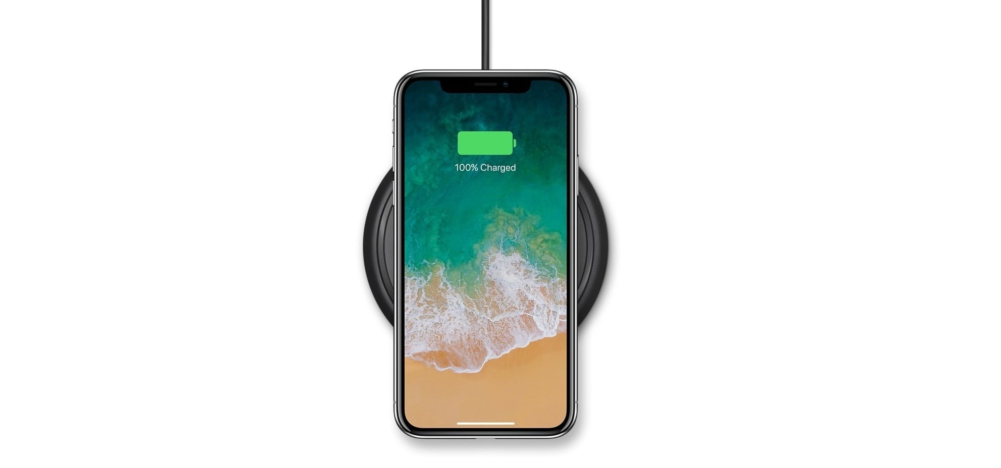 mophie - Wireless Charge Pad - Apple Optimized - 7.5W-min