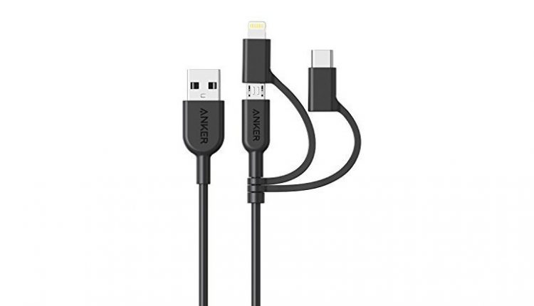 Anker PowerLine II 3 in 1 Cable