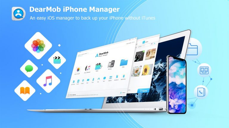 How To Backup iPhone Without iTunes   DearMob iPhone Manager Review
