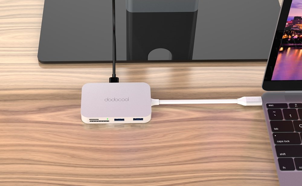 dodocool USB C Hub 7 in 1