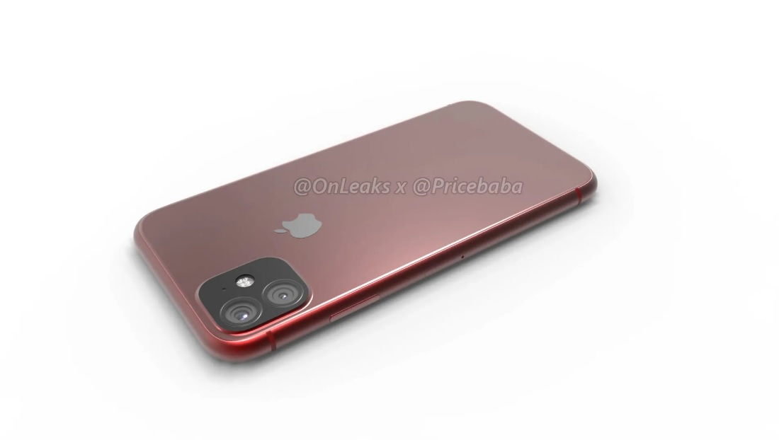 iPhone 11 renders