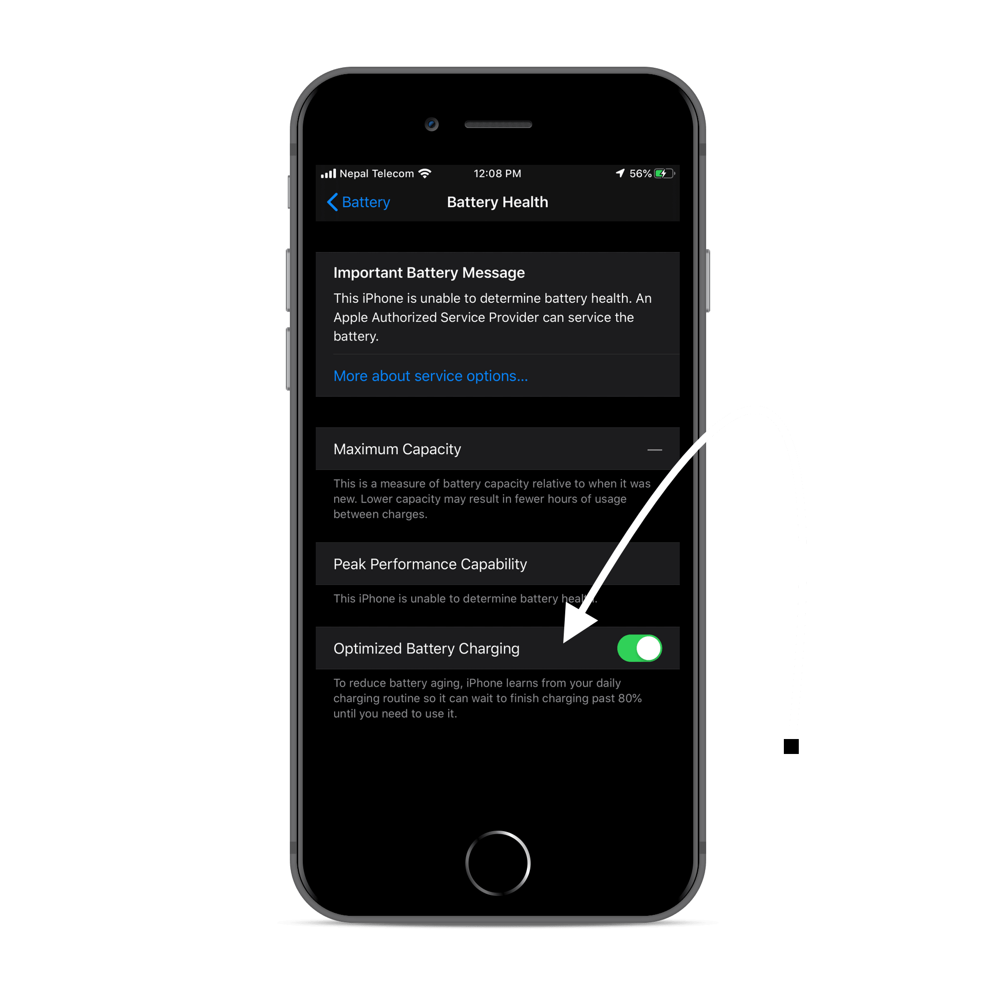 Optimized-Battery Charging Feature in iOS 13
