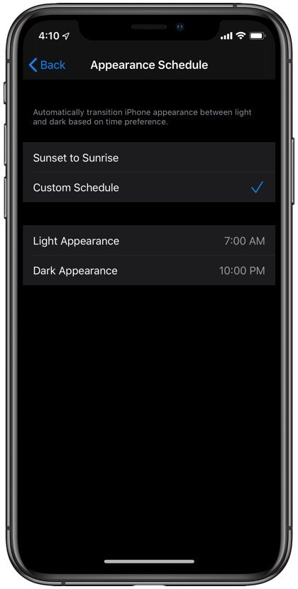 iOS-13-dark-mode-settings