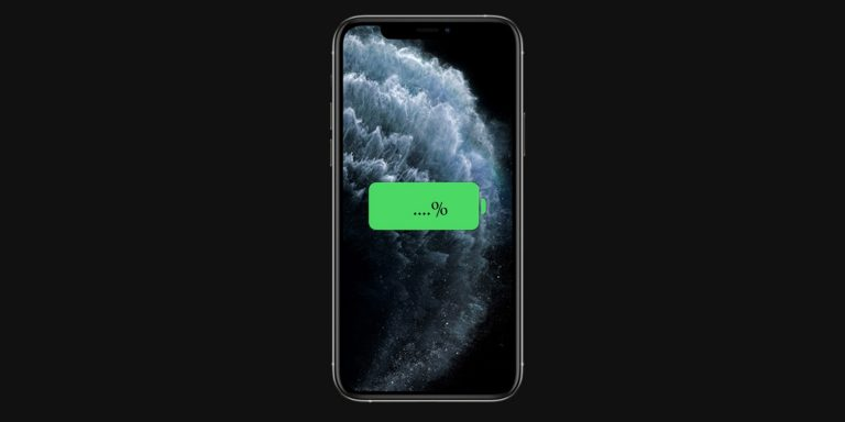 How to Check Battery Percentage in iPhone 11, iPhone 11 Pro and iPhone 11 Pro Max