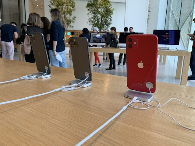 New iPhones are already delivered up all over world