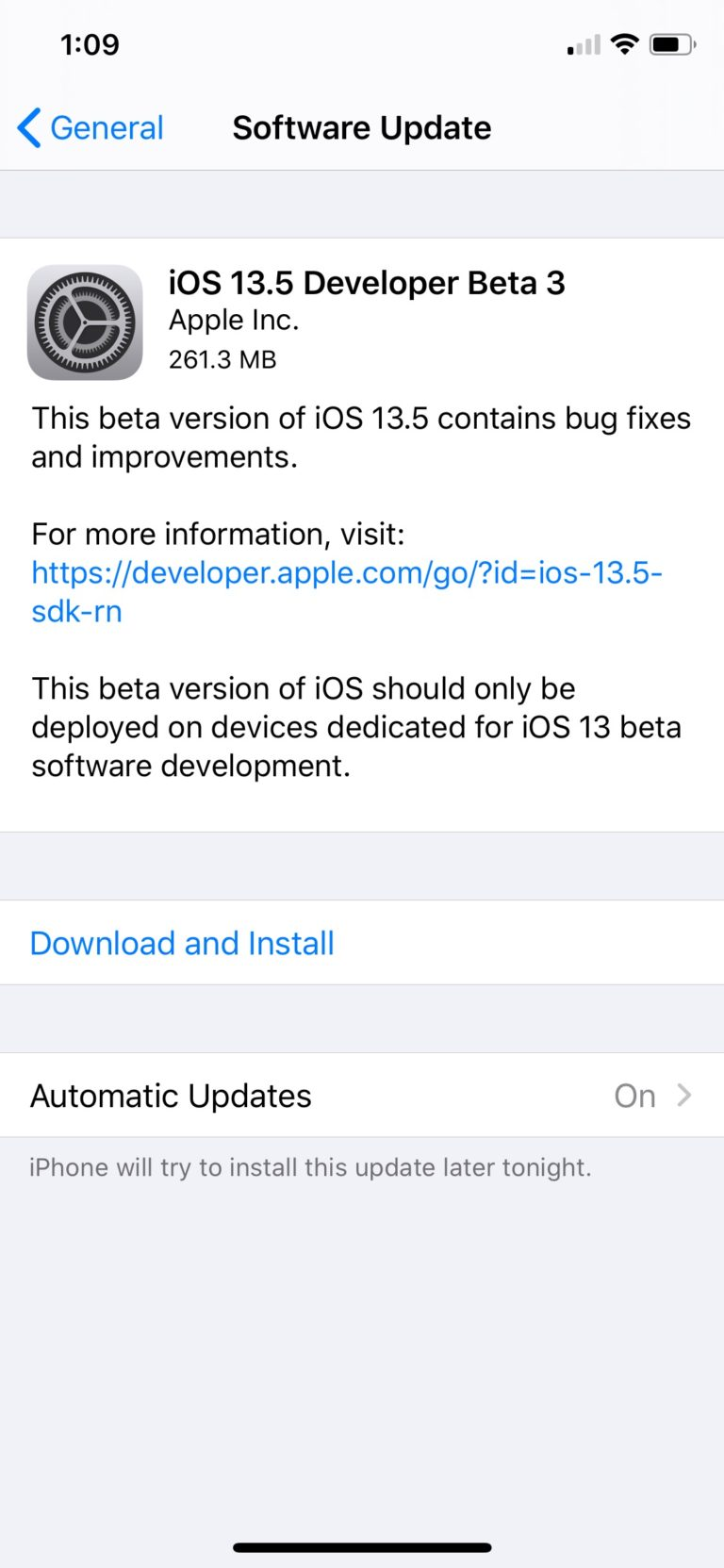 [Download] Apple Releases iOS 13.5 Beta 3 and iPadOS 13.5 Beta 3