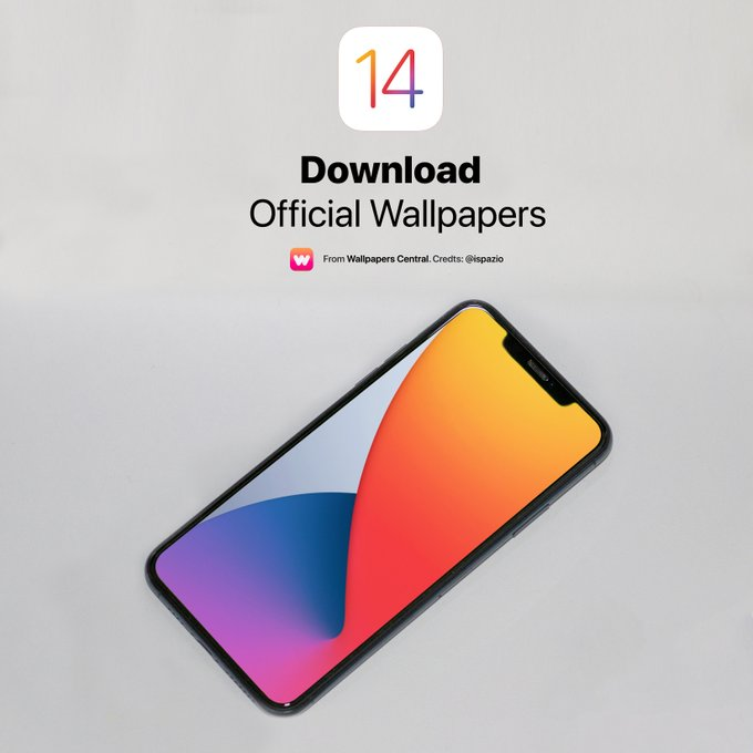 Download The Latest Official Ios 14 Iphone Wallpapers Imangoss