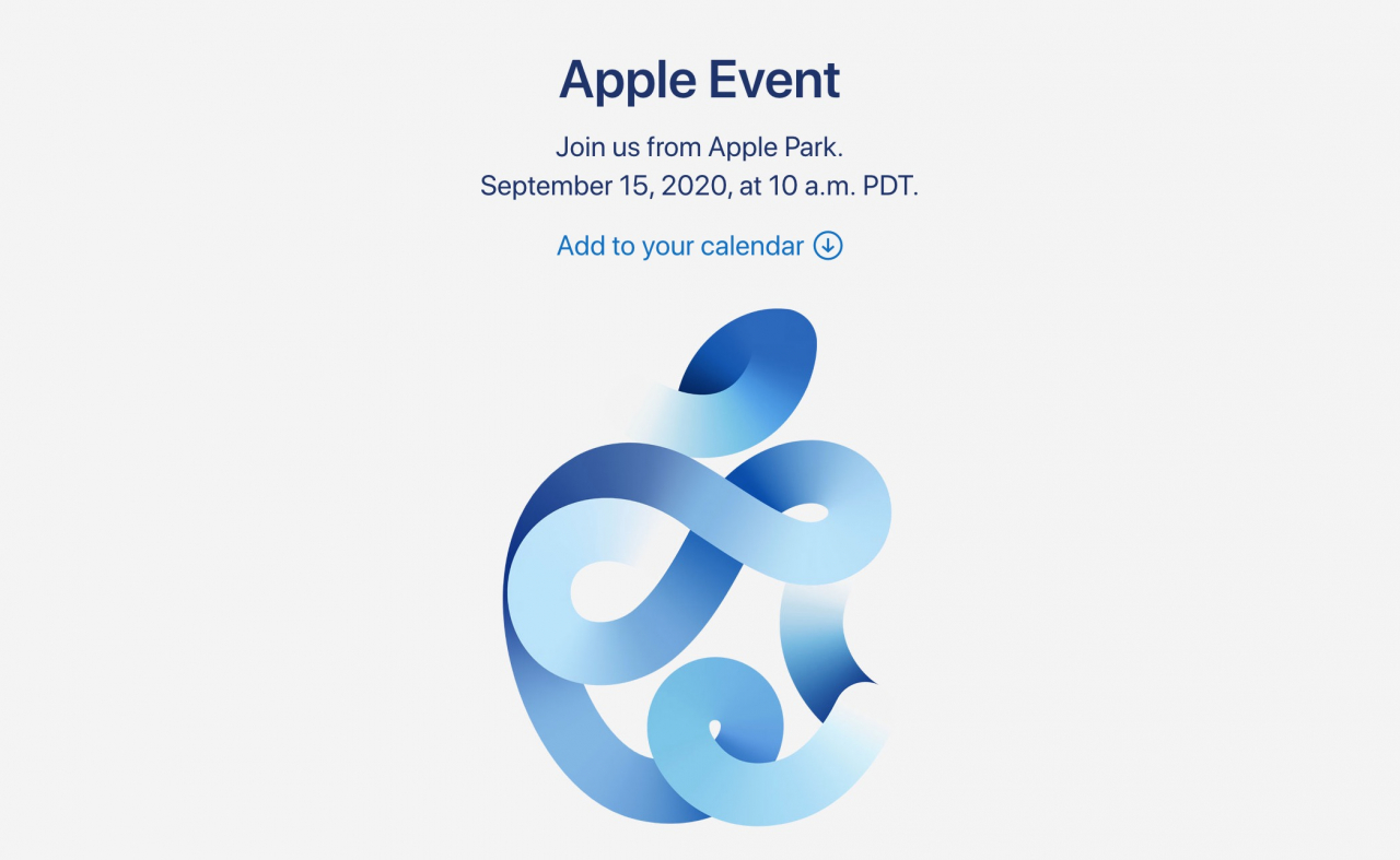 Apple Officially Announces Special Event on September 15