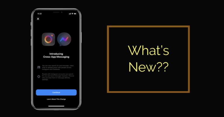 What is Instagram's Cross-App Messaging ?