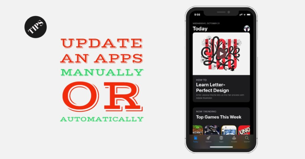 How to update apps manually or automatically on iphone or ipad