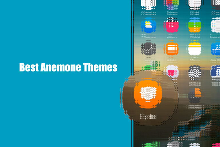 [Updated] Download 42 Best Anemone themes for iOS 13 OR 12.1.2/12.1.1/12/11 – 11.3.1