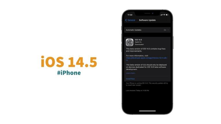 Should I Download The iOS 14.5 Public Beta 1 Ahead of its Final Release?